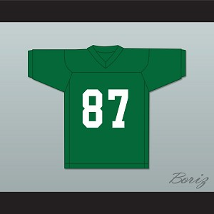 Bill James 87 Marshall University Green Football Jersey We Are Marshall