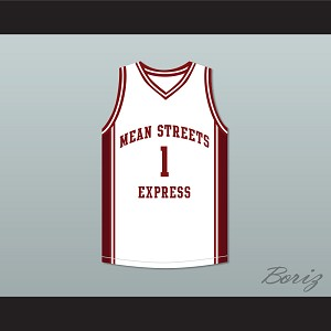 Derrick Rose 1 Mean Streets Express Basketball Jersey AAU