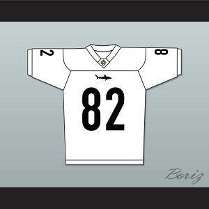 Terrell Owens 82 Miami Sharks Football Jersey Any Given Sunday Includes AFFA Patch White