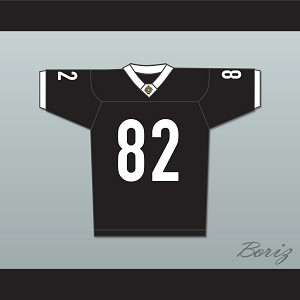 Terrell Owens 82 Miami Sharks White Trim Football Jersey Any Given Sunday Includes AFFA Patch
