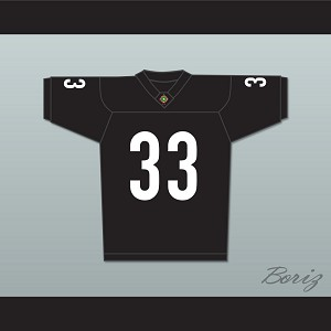 LL Cool J Julian Washington 33 Miami Sharks Football Jersey Any Given Sunday Includes AFFA Patch