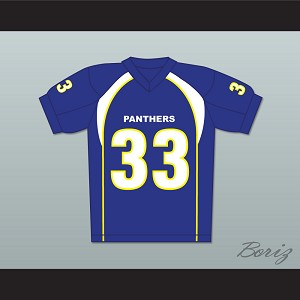 Taylor Kitsch Tim Riggins 33 Dillon Panthers Football Jersey Friday Night Lights Blue