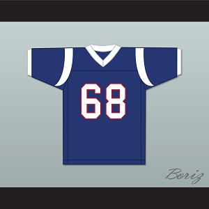 Peter Griffin 68 Blue Football Jersey