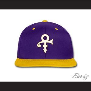 8c743ae66b3 Prince Symbol Minnesota Purple Yellow Baseball Hat