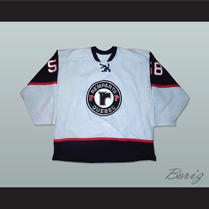 Quebec Remparts Gray Hockey Jersey