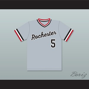Cal Ripken Jr. 5 Rochester Red Wings Gray Baseball Jersey