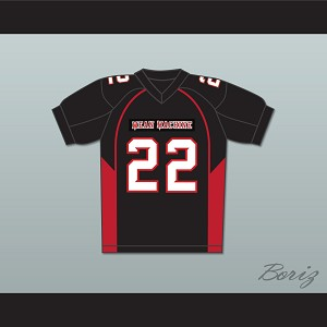 Burt Reynolds 22 Coach Nate Scarborough Mean Machine Convicts Football Jersey