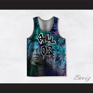 Dr Dre 02 Still Dre Cannabis Cool Ice Basketball Jersey