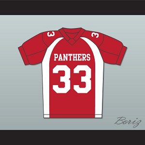Taylor Kitsch Tim Riggins 33 Dillon Panthers Football Jersey Friday Night Lights Red