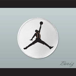 Set of 5 Urkel Jumpman Logo Spoof Embroidered Patches