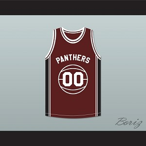 Duane Martin Kyle Lee Watson 00 Panthers High School Basketball Jersey Above The Rim Maroon