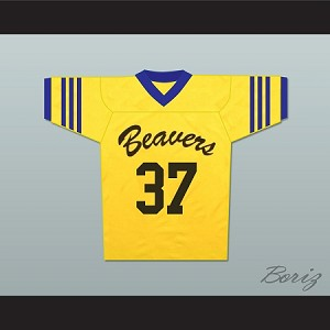 Jackson Whittemore 37 Beacon Hills Beavers Lacrosse Jersey Throwback Teen Wolf