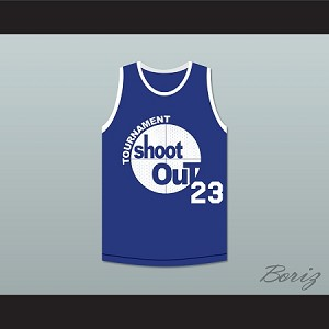 23 TOURNAMENT SHOOT OUT BOMBERS BASKETBALL JERSEY ABOVE THE RIM