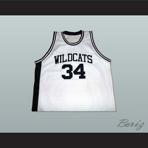 LEN BIAS NORTHWESTERN WILDCATS HIGH SCHOOL BASKETBALL JERSEY WHITE NEW