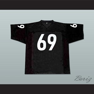 Patrick Madman Kelly 69 Miami Sharks Football Jersey Any Given Sunday