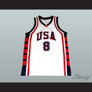 CARMELO ANTHONY USA NATIONAL TEAM BASKETBALL JERSEY ANY PLAYER OR NUMBER